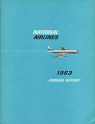 National Airlines 1963 Annual Report
