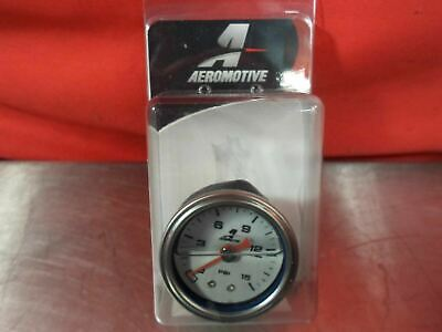 "Aeromotive 15632 0-15 Psi 1-1/2"" Dial Fuel Pressure Gauge"