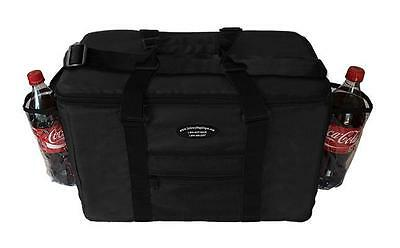 Insulated Food Delivery Bag / Pan Carrier Pasta /Sandwich & Drink Holder(BLACK)