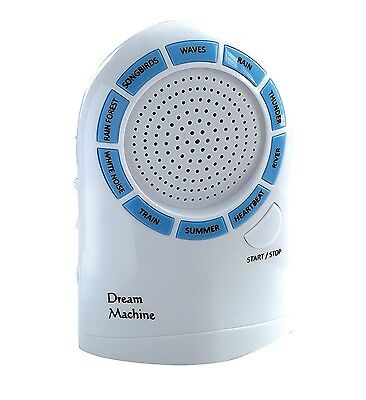 TV Trends Dream Machine Sleep Like a Baby with Sound Therapy 10 Soothing S..