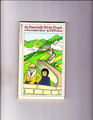 "An Especially Tricky People 1979-Strip Reprints Paperback-"" Doonesbury Book ! """
