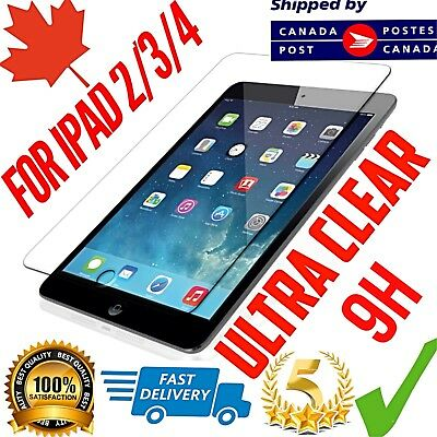 Tempered Glass Screen Protector iPad 2 3 4 Premium Quality