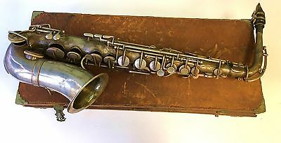 Buffet Crampon Alto Saxophone #6389, made in 1885.  Early Adolphe Sax Licensee.