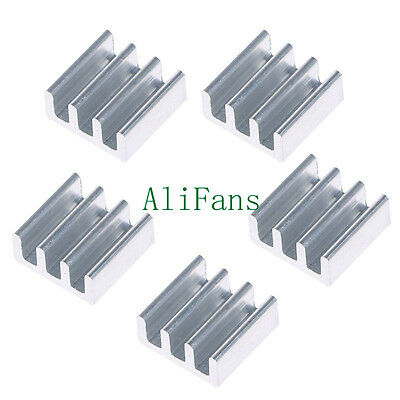 5PCS 11x11x5mm Aluminum Heat Sink For Memory Chip IC SF
