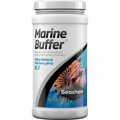 Seachem Marine Buffer 250g Raises and Stabilises pH for Marine Aquariums