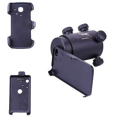 iScope Smartphone Rifle Scope Adapter Complete Kit for Iphone 4 3GS S2 Android 2