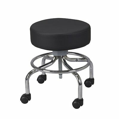 Drive Medical Deluxe Wheeled Round Stool Black Chairs Stools Furniture Equipment