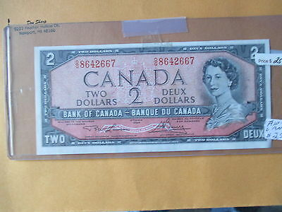 1954 $2 Bank Of Canada