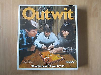 """Outwit Game - Toltoys 1978 - """" It Looks Easy 'Till You Try """" - 100 % Complete"""