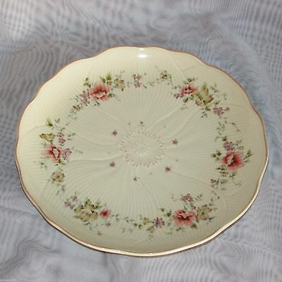 """Mikasa Spring Melodies Forever Salad Plate Fv592 9 1/4"""" Pink Yellow Flowers"""