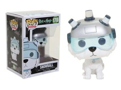 Funko Pop Animation: Rick and Morty - Snowball Vinyl Figure Item No. 12445
