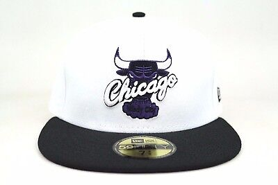 18d1287b8aa Chicago Bulls White Black Air Jordan XI & Low Concord New Era 59Fifty  Fitted Hat