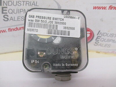Dungs LGW50A4-2 Gas Pressure Switch - Unused