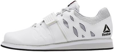Reebok Lifter PR Mens Weightlifting Shoes - White