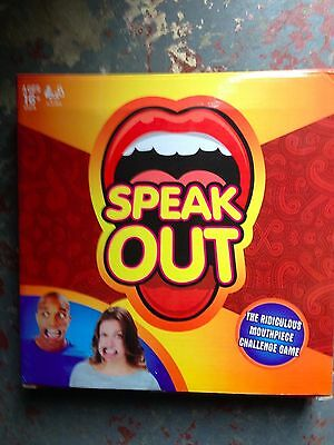 SPEAK OUT Board Party Game Kids Fun Filled Family Game of Suspense Gift Toys NEW
