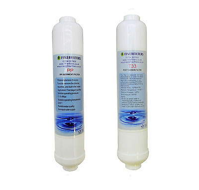 Finerfilters Compact 3 Stage Aquarium Reverse Osmosis Replacement Water Filters
