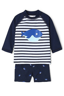 NEW Sprout Rashy and Boardy Set Navy