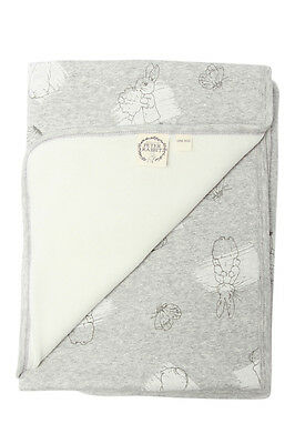 NEW Peter Rabbit Bunny Rug Grey