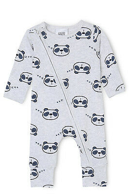 NEW Sprout Long Sleeve Sleepsuit Grey Marle