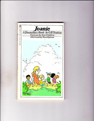 "Joanie 1979-Strip Reprints Paperback-""Doonesbury Book ! """
