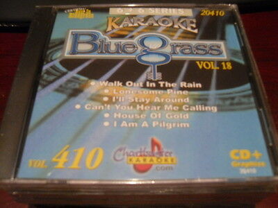 Chartbuster 6+6 Karaoke Disc 20410 Bluegrass Vol 18 Cd+G Country Multiplex