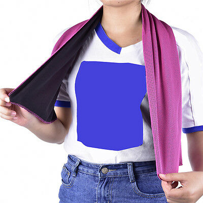 Outdoor Running Jogging Gym Sports Mesh Cooling Towel Iced Towel