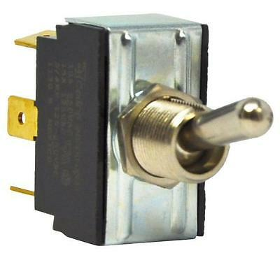 CARLING TECHNOLOGIES 2GM51-73 4X851 Toggle Switch,DPDT,On/Off/On