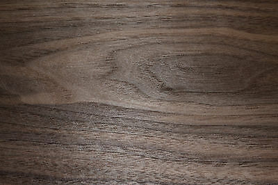 Walnut Raw Wood Veneer Sheets 6 x 39 inches 1/42nd thick              ST6838-14