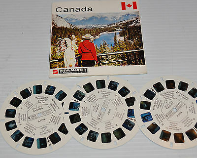 - CANADA VIEW-MASTER Reels with Packet A-099 -