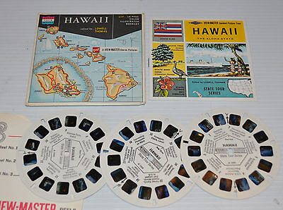 - HAWAII The Aloha State VIEW-MASTER Reels with Packet A-120 -