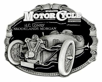 Brooklands Morgan Belt Buckle Classic British Car Authentic Officially Licensed
