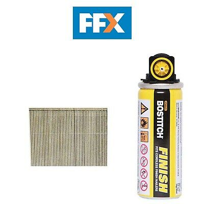 Bostitch 16G64FC 64mm Galvanised 16G Straight Finish Nails 2000 and Fuel