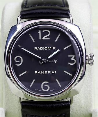 Panerai Pam 210 Radiomir 3 Days Black 45mm Stainless Steel Leather