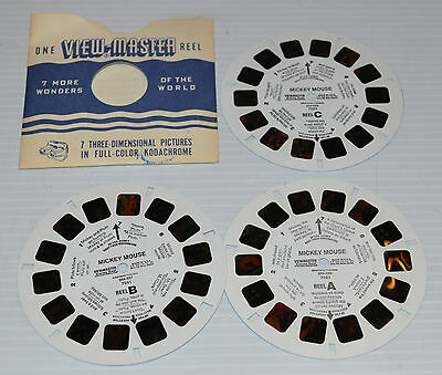 - MICKEY MOUSE VIEW-MASTER Reels 7051 Disney -