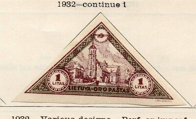 Lithuania 1932 Early Issue Mint Hinged 1L. 185208