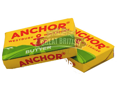 Anchor Butter Portions- Individually Foil Wrapped -quantity 10 or 25 Travel pack