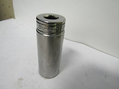 "SNAP ON SFS261 USA made DEEP SOCKET 3/8"" drive,  13/16"" 6 point     A297"