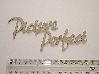 Chipboard - Picture Perfect - Crafty Originals