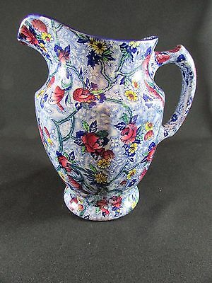 Maling Ware Ringtons Ltd Large Hand Painted Jug c.1930-62