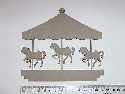 Chipboard - Large Carousel - Crafty Originals