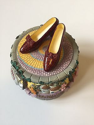 Wizard Of Oz - Ruby Slippers Musical Figurine by San Francisco Music Box Co.