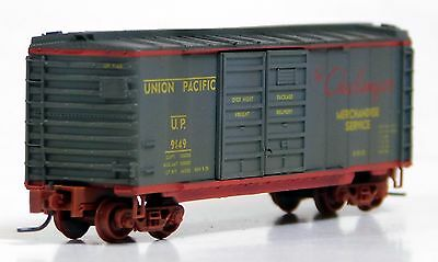 Micro-Trains MTL Z Union Pacific 70 Ton 2 Bay Covered Hopper WEATHERED 50144192