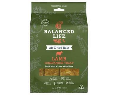 Balanced Life - Air Dried Raw Lamb Dog Treats Pet Supplies