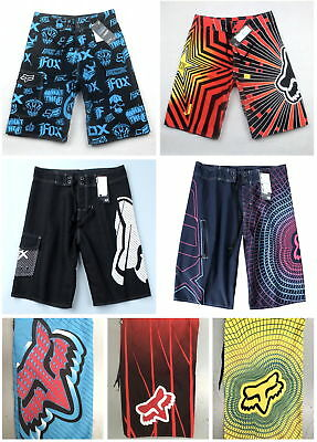 Fox Mens Surf Beach Swimming Dry Quick Board Shorts - size 30, 32, 34, 36