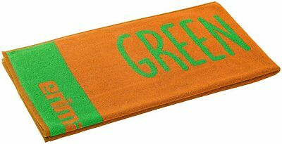 Erima Green Concept Duschtuch Bath Towel, 70x140 Handtuch, Orange Pop UVP 19,95