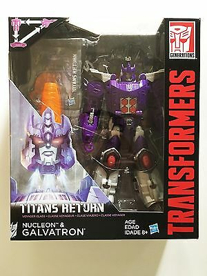 GALVATRON Transformers Generations Titans Return Voyager Class NEW!