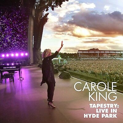 Carole King - Tapestry: Live In Hyde Park (Cd/dvd)  2 Cd New+