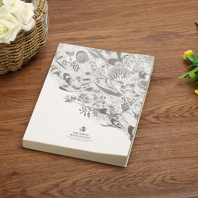 19x26cm 128 Sheets Art Thick Blank Paper Drawing Sewing Book Sketch Scrawl