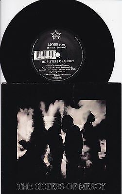 """almost Mint"" Sisters Of Mercy..more..1990 Merciful Release Gothic Rock 7"" Mr 47"