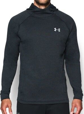 Under Armour Tech Terry Fitted Pullover Mens Hoody - Black